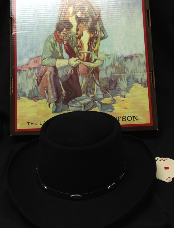 STETSON Hat GUN CLUB ROYAL FLUSH HAT