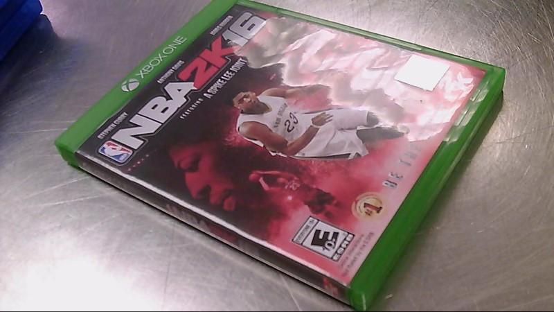 XBOX ONE GAME NBA 2K16