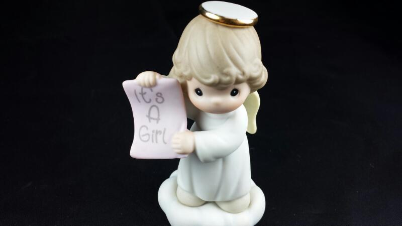 Precious Moments - It's A Girl Angel 136024B