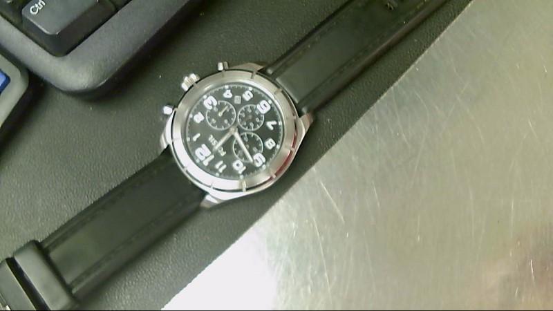 FOSSIL Gent's Wristwatch BQ1243 MENS CHRONOGRAPH WATCH BLK ON BLK