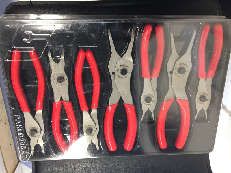 SNAP ON Pliers SRPC107 IN CASE