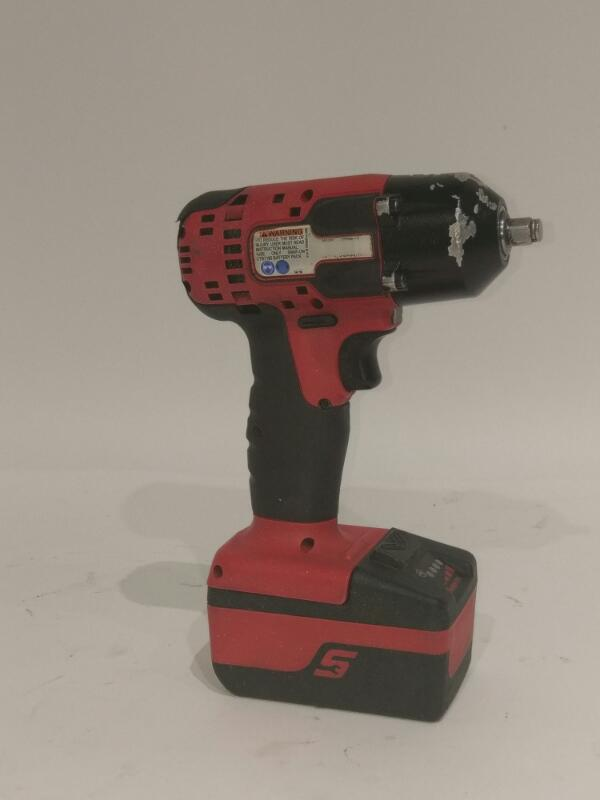 "Snap-on CT8810 18 V LiOn 3/8"" Drive Cordless Impact Wrench Bundle>"