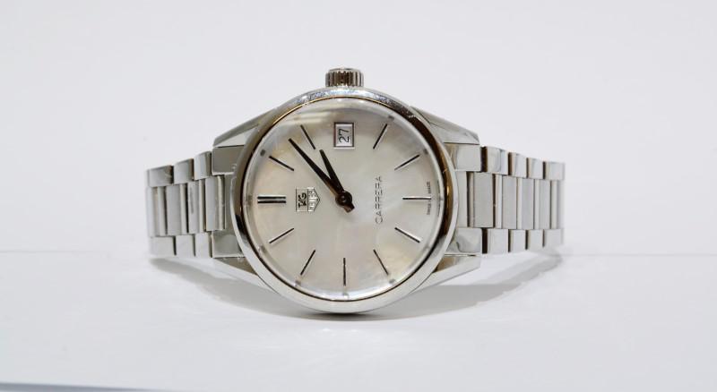 Tag Heuer Carrera WAR1311 Swiss Women's Watch - Mother of Pearl Dial
