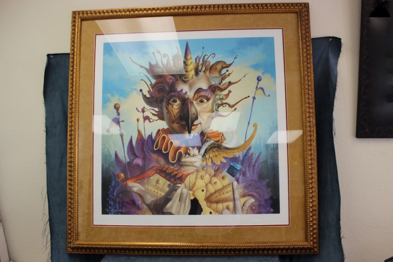"Gil Bruvel ""Earth Angel"" Framed 1/35"
