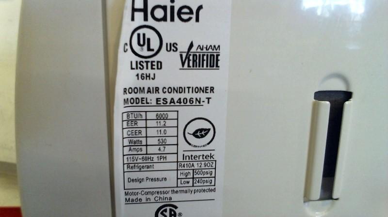 HAIER Air Conditioner ESA406N-T