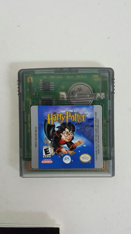 NINTENDO Vintage Game HARRY POTTER GAMEBOY COLOR
