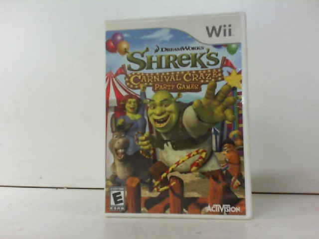 NINTENDO Nintendo Wii Game SHREK'S CARNIVAL CRAZE
