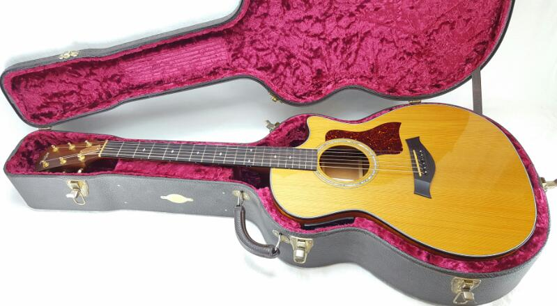 1999 TAYLOR 514-CE ACOUSTIC ELECTRIC GUITAR WITH ORIGINAL HARDCASE