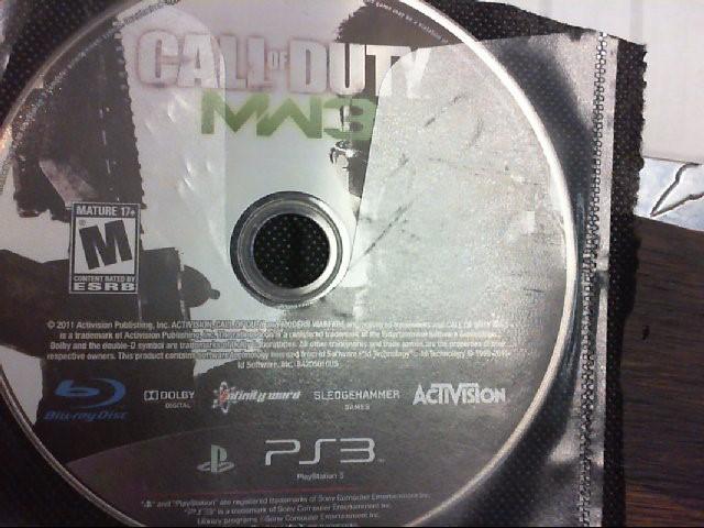 SONY PS3 CALL OF DUTY MW3