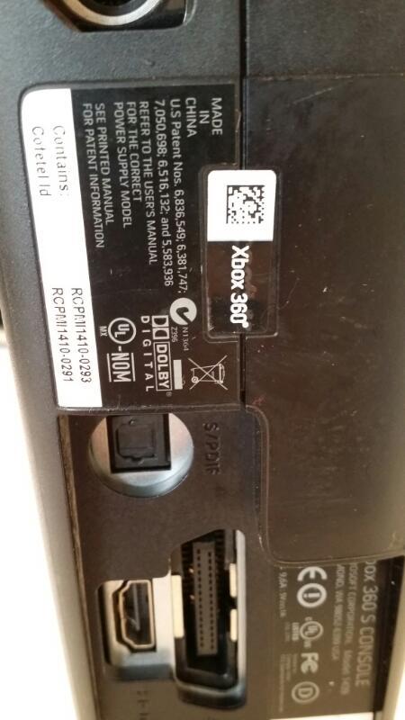 Microsoft Xbox 360 Matte Black Slim Console - 320GB - Free S&H [