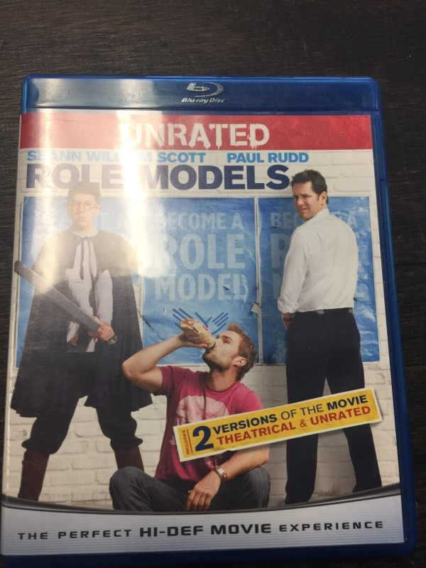 BLU-RAY MOVIE Blu-Ray ROLE MODELS UNRATED