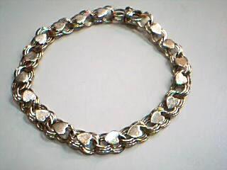 Gold Fashion Bracelet 14K Yellow Gold 12.6g