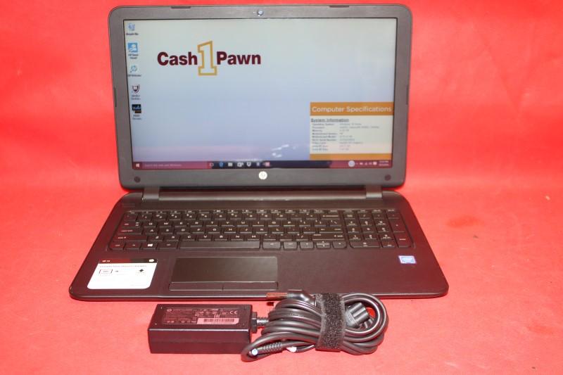 Hewlett Packard Laptop HP15-F233WM 1.60 Intel 4GB RAM 500GB