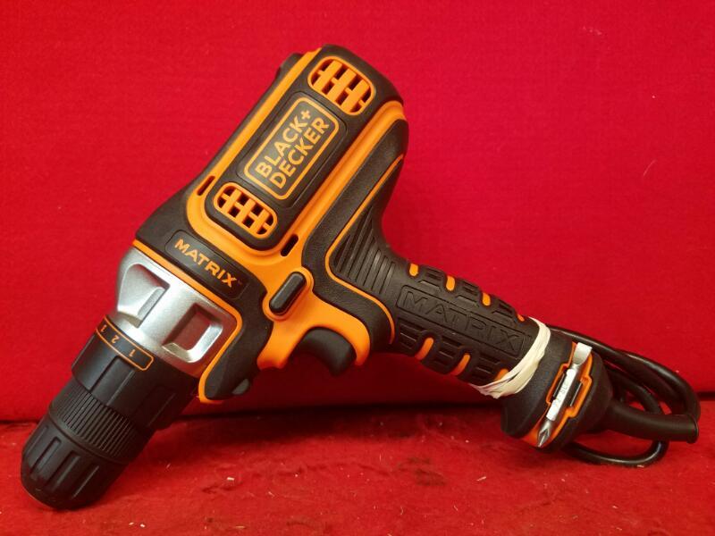 Black & Decker 4-Amp Corded Drill/Driver BDEDMT