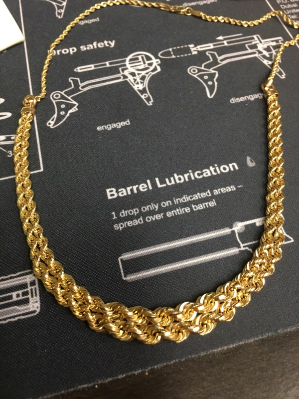 Gold Chain 10K Yellow Gold 3.5dwt