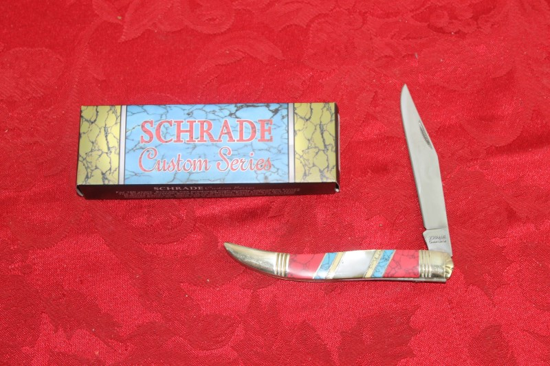 Schrade 153UH Hunting Knife