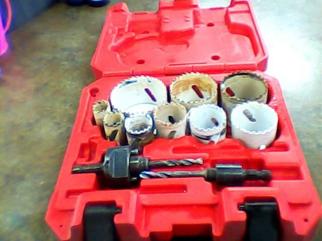 MILWAUKEE Drill Bits/Blades 13PC BI-METAL HOLE SAW KIT