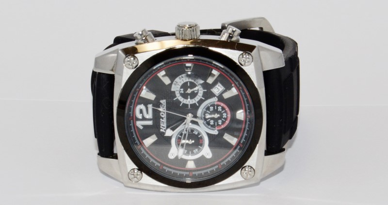 HELOISA MEN'S CHRONOGRAPH STAINLESS STEEL WATCH