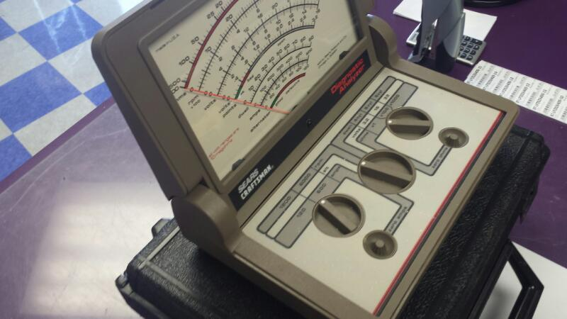 Sears Craftsman Portable Diagnostic Analyzer 2167 w/ Case