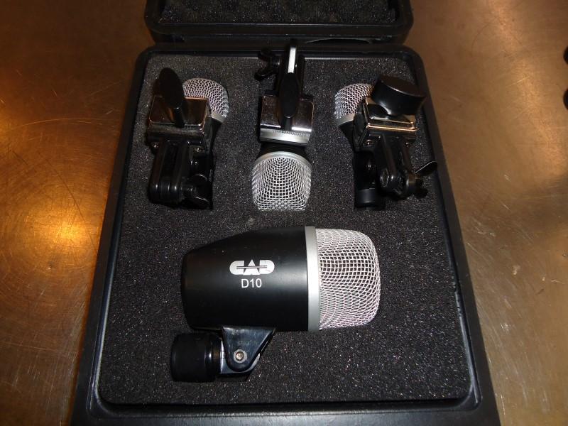 CAD AUDIO Microphone PRO-4 DRUM MIC SET (4-PIECE)