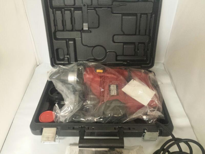"Chicago Electric 69274 Variable Speed SDS 1 1/8"" Rotary Hammer Drill"