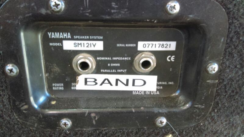 YAMAHA Electric Guitar Amp SM121V