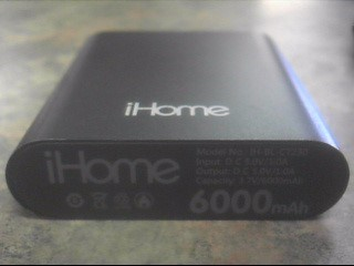 IHOME Battery/Charger IH-BL-CT230