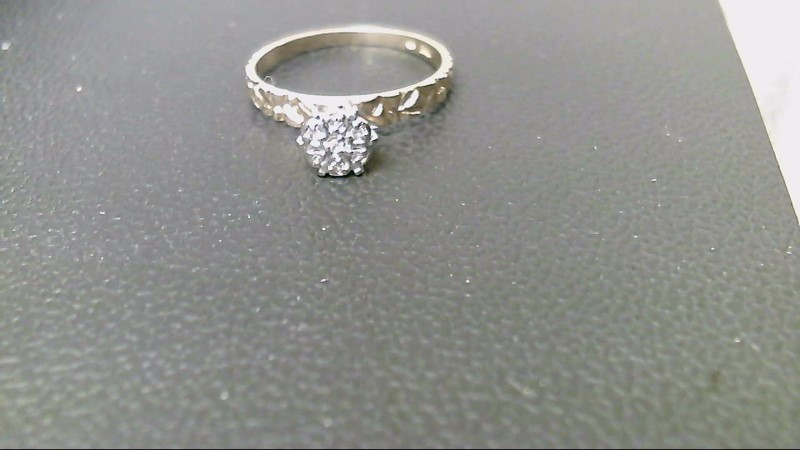Lady's Diamond Cluster Ring 7 Diamonds .21 Carat T.W. 14K Yellow Gold 2g