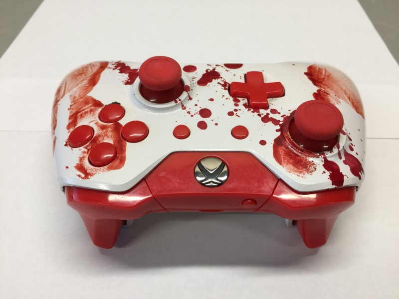 BLODDY HANDS CUSTOM XBOX ONE WIRELESS CONTROLLER UN-MODDED #1537