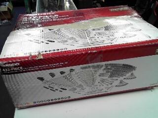 HUSKY Mixed Tool Box/Set 432 PIECE SET