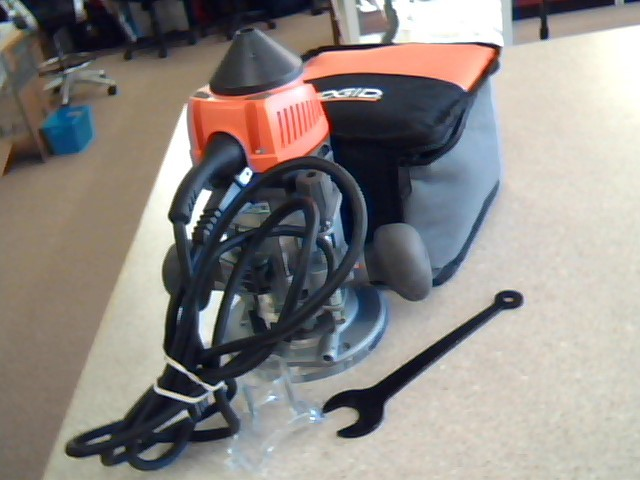 RIDGID TOOLS Router R2901 WITH SOFT CARRY CASE