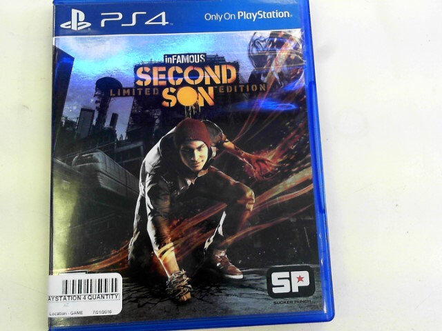 SONY Sony PlayStation 4 Game INFAMOUS SECOND SON LIMITED EDITION - PS4