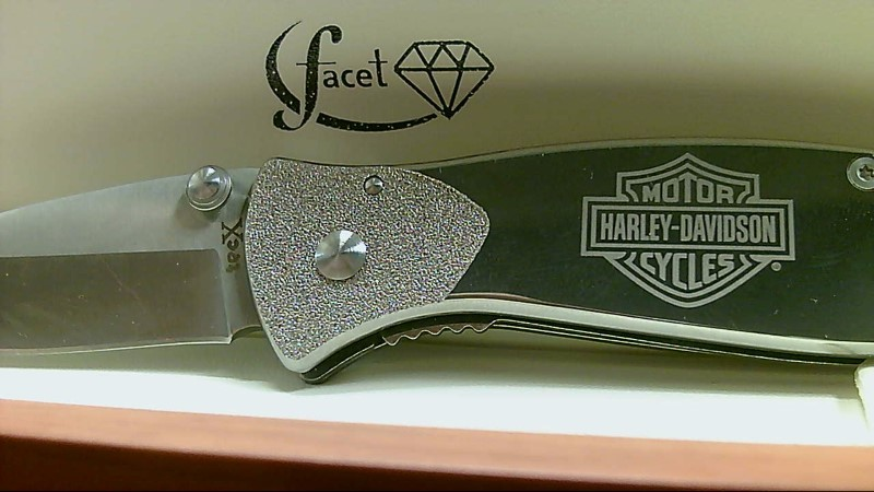 TecX Harley Davidson Stainless Steel Knife