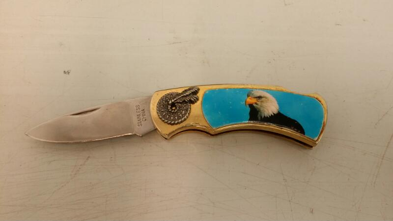 STAINLESS STEEL EAGLE KNIFE MADE IN CHINA]