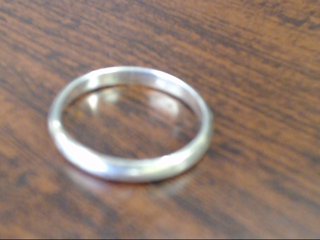 Gent's Silver Wedding Band 925 Silver 2.1g Size:9