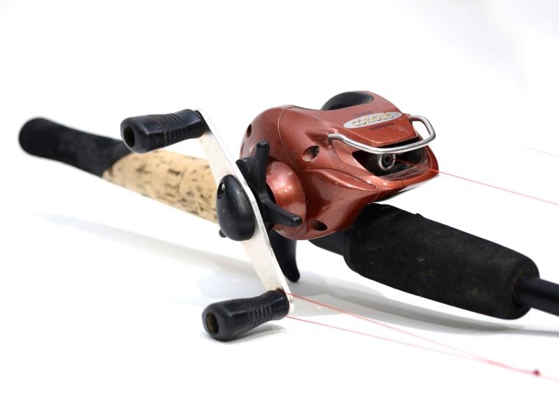 """BERKLEY LIGHTNING ROD 6'5.5"""" FISHING ROD-SHIMANO BANTAM COROILIS REEL"""