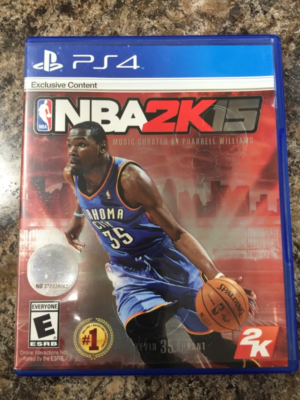 NBA 2K15 (Sony PlayStation 4, 2014)
