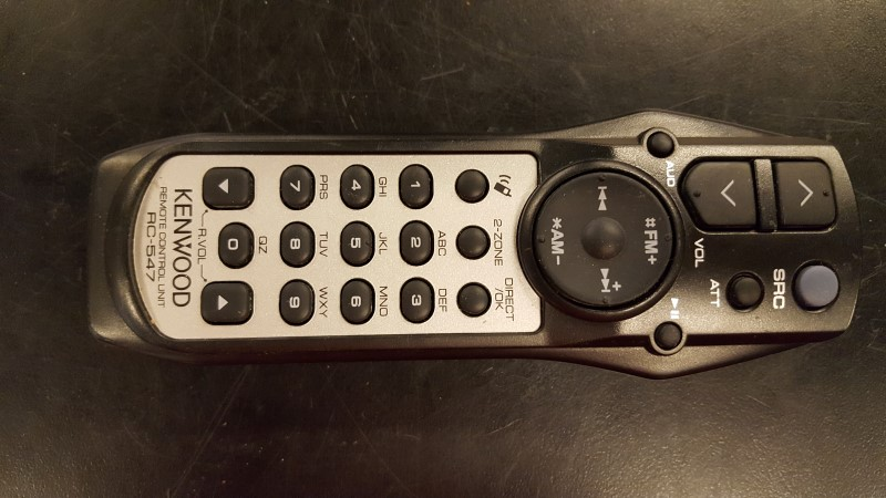 KENWOOD Car Audio KDC-MP438U