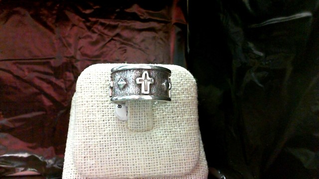 Lady's Silver Wedding Band 925 Silver 7.5g Size:7.5