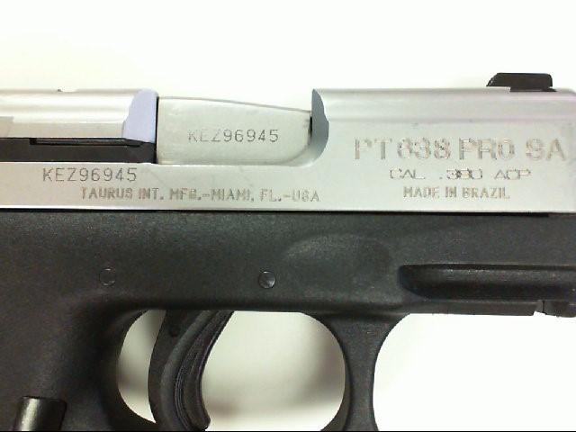 TAURUS Pistol PT-638 PRO SA