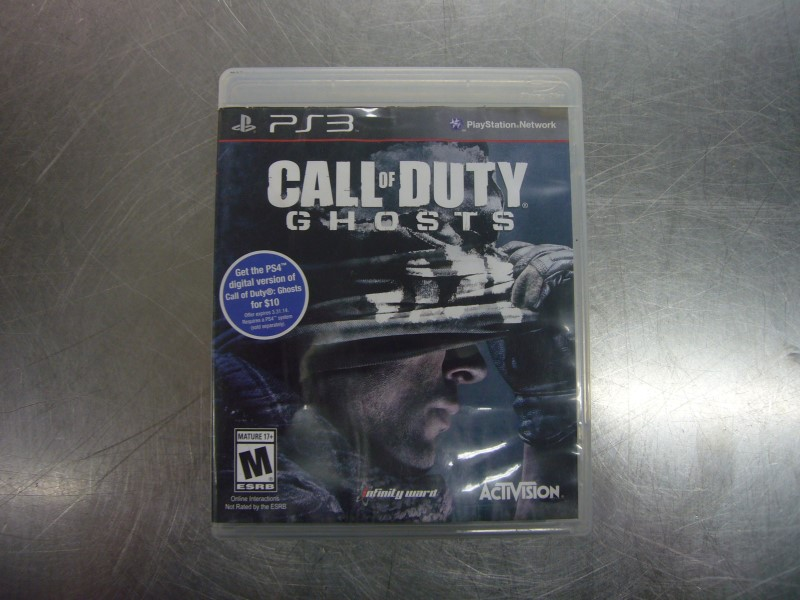 SONY PlayStation 3 Game CALL OF DUTY GHOSTS