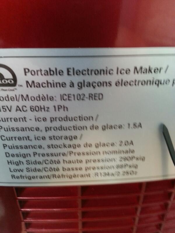 IGLOO Miscellaneous Appliances ICE102-R