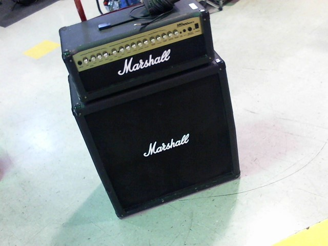 MARSHALL Amplifier/Tube Amp MG100HDFX GUITAR AMP AND MG 412A CABINET