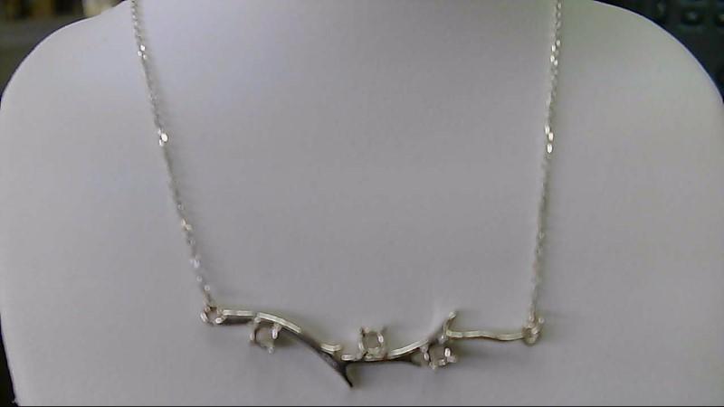 Fashion Branch Silver Chain 925