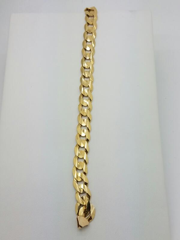 Gold Bracelet 10K Yellow Gold 17.35dwt