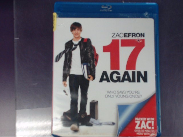 BLU-RAY MOVIE Blu-Ray 17 AGAIN