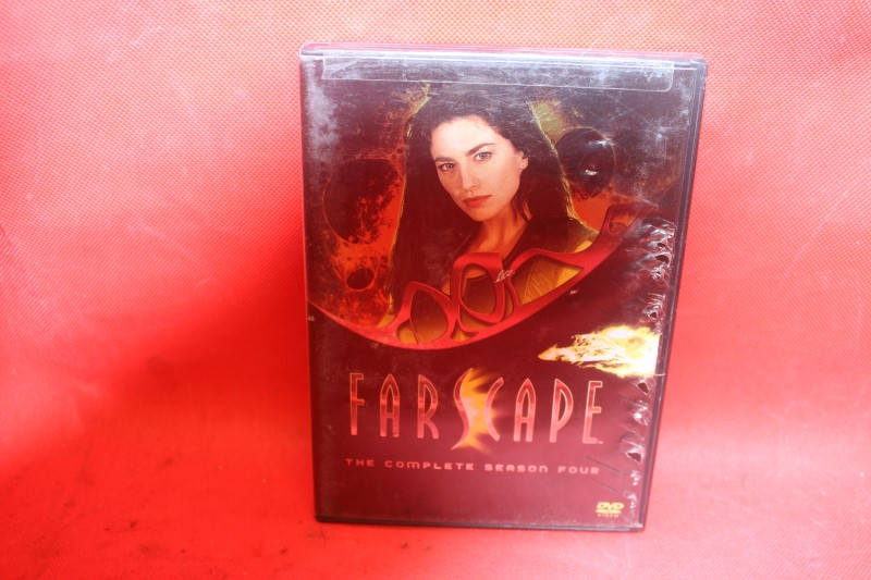 Farscape: The Complete Season Four (DVD, 2009, 6-Disc Set) FREE SHIPPING!