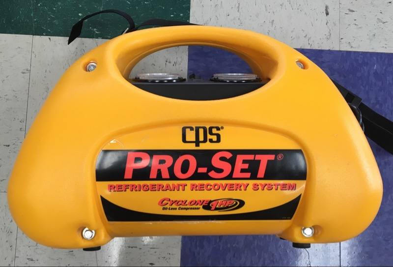 CPS PRO-SET CR700 REFRIGERANT RECOVERY SYSTEM  ** IN STORE PICK-UP ONLY **
