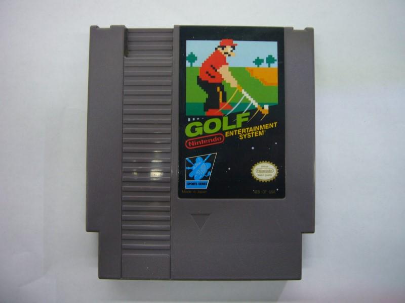 NINTENDO NES Game GOLF *CARTRIDGE ONLY*