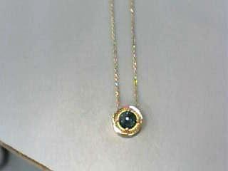 Diamond Necklace 1.46 CT. 14K Yellow Gold 2.4dwt